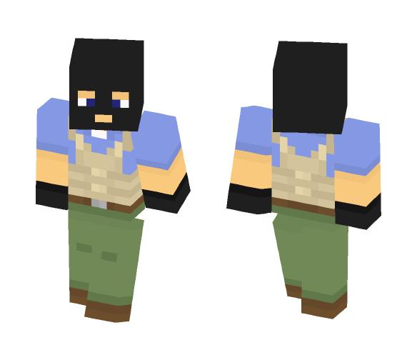 Download CS:GO terrorist Minecraft Skin for Free  SuperMinecraftSkins