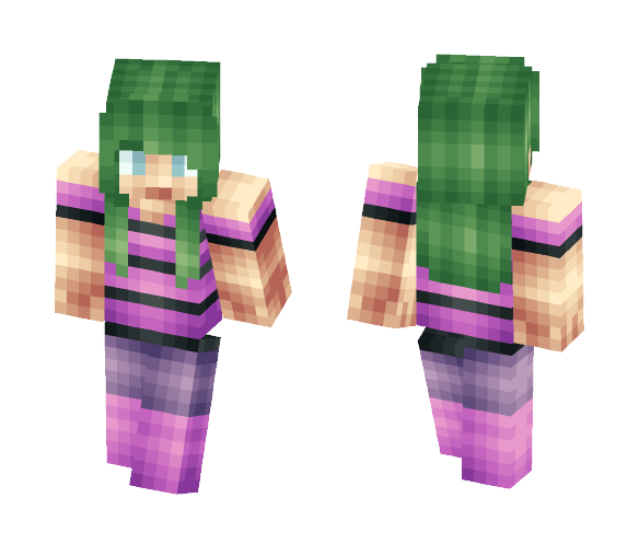 July 18th Skin For My Cousin - Female Minecraft Skins - image 1
