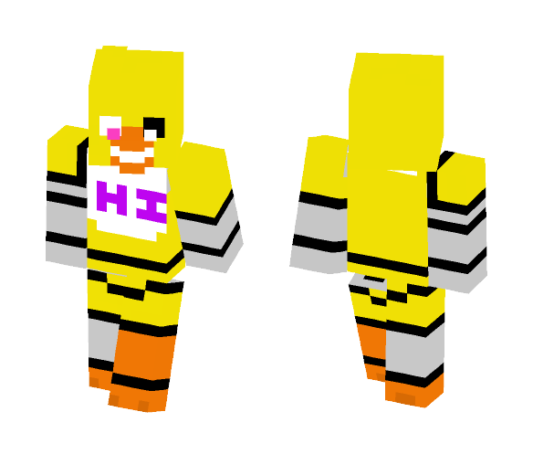 Adventure Unfinished Chica - Female Minecraft Skins - image 1