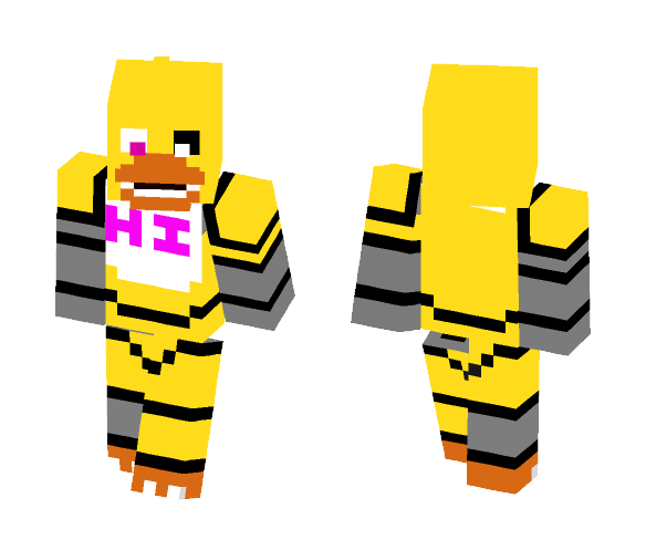 Unfinished Chica - Female Minecraft Skins - image 1