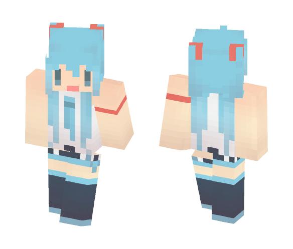 Vocaloid | Hatsune Miku Lat - Female Minecraft Skins - image 1