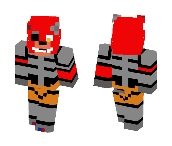 Unfinished Foxy - Male Minecraft Skins - image 1