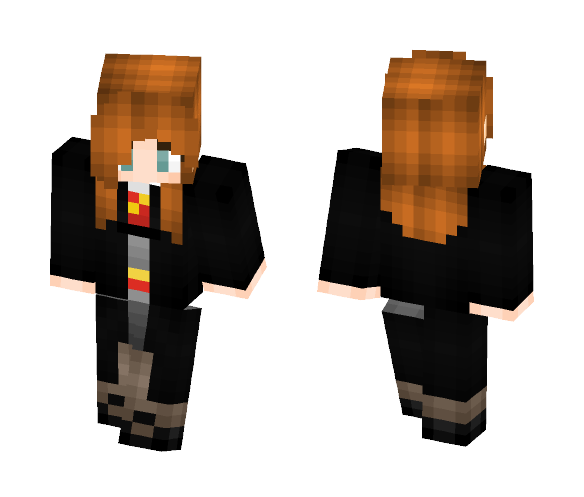 -Ginny Weasley- - Female Minecraft Skins - image 1