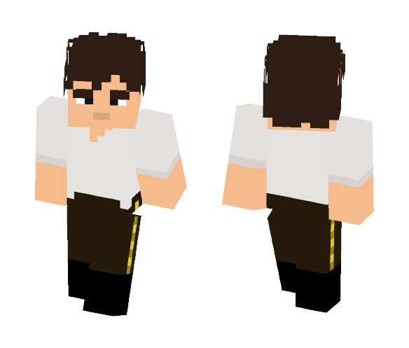 Han Solo Before Carbonite - Male Minecraft Skins - image 1