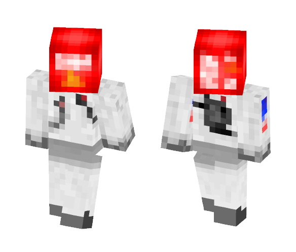 Download Doritos Head Decoration Minecraft Skin For Free