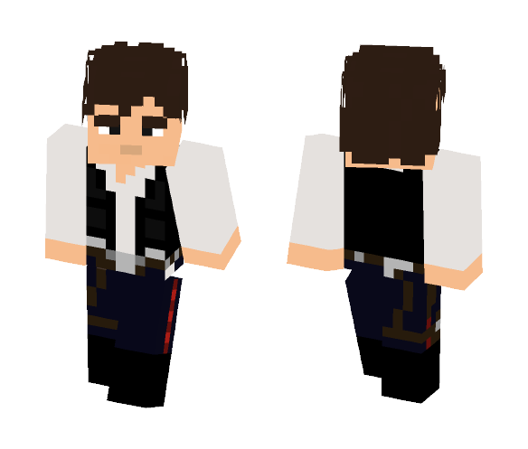 Han Solo - Male Minecraft Skins - image 1