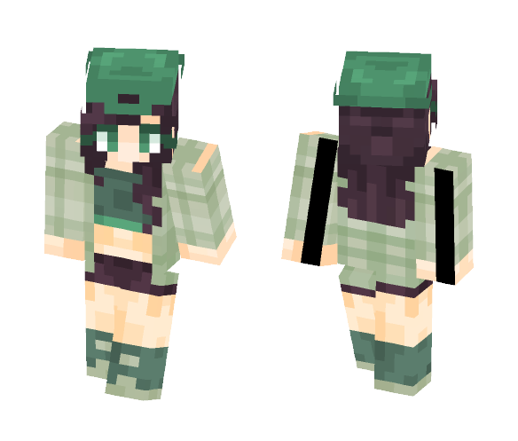 EvergreeN - Female Minecraft Skins - image 1