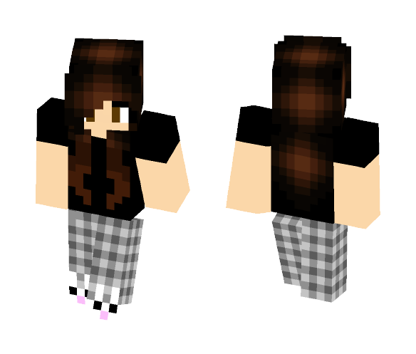Download Night Owl Girl Minecraft Skin for Free