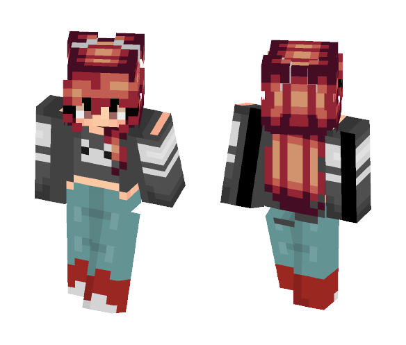FREE WIFI?! *Angels sing* - Female Minecraft Skins - image 1