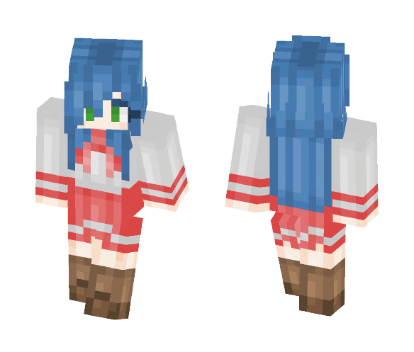 Izumi Konata {LUCKY STAR} - Female Minecraft Skins - image 1