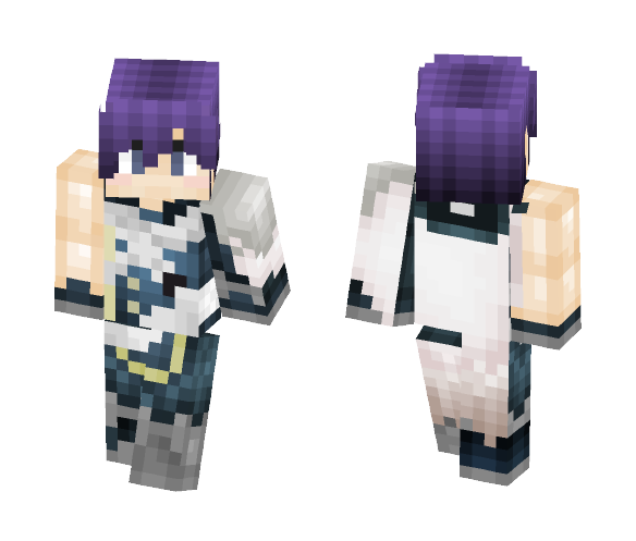 Chrom ~ Fire Emblem Awakening - Male Minecraft Skins - image 1