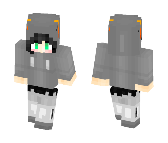 Joey Claire Horns - Female Minecraft Skins - image 1
