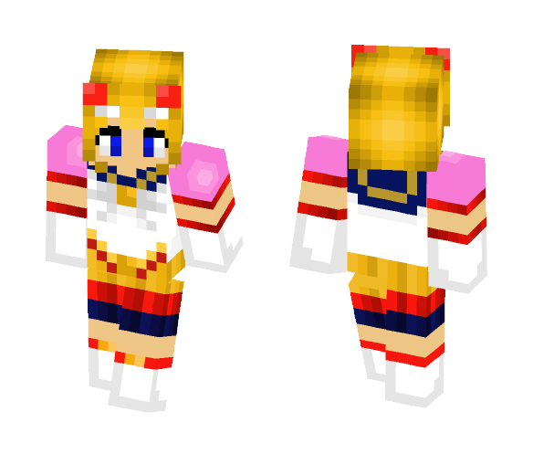 Eternal sailor moon skin - Female Minecraft Skins - image 1