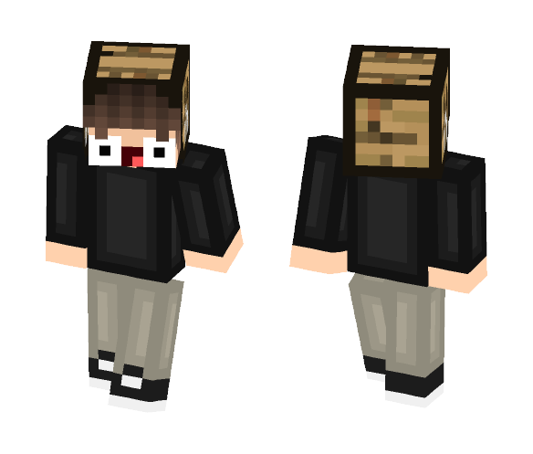 Crafting head - Male Minecraft Skins - image 1