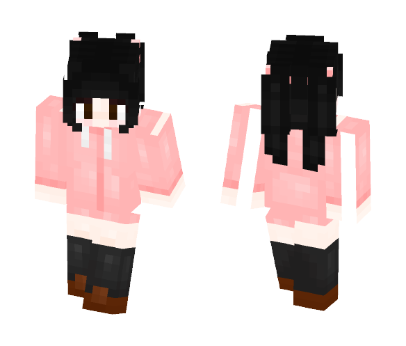 Poison Pink Candy - Female Minecraft Skins - image 1