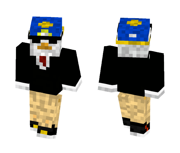 Download Duck With Swag Minecraft Skin For Free