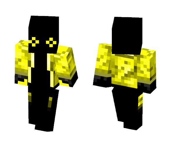 yellow and black fellow - Interchangeable Minecraft Skins - image 1