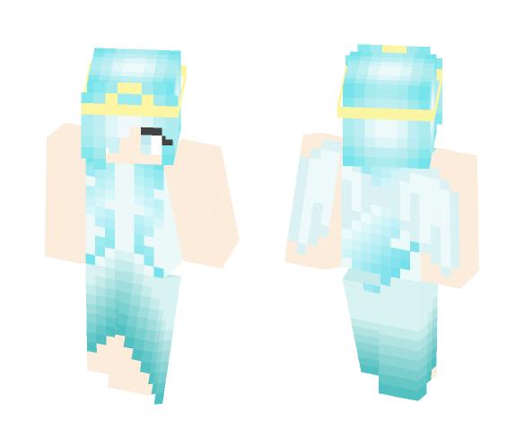 Ice Pegasus Girl - Girl Minecraft Skins - image 1