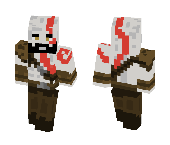 Download Skin God Of War 4 Minecraft Skin for Free  SuperMinecraftSkins