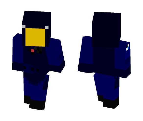 GIGN Operator v2 - (Transparent) - Male Minecraft Skins - image 1