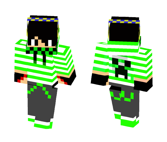 Download Cool Creeper Pvp Skin Minecraft Skin For Free Superminecraftskins