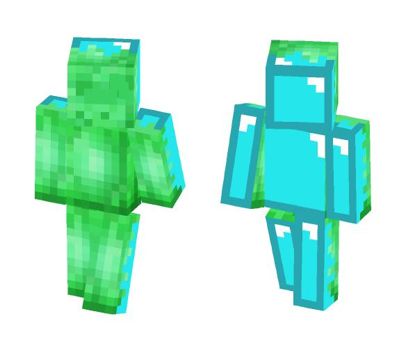 Diamond infection - Male Minecraft Skins - image 1