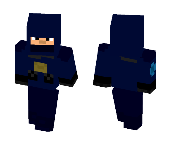 GIGN Operator - Male Minecraft Skins - image 1