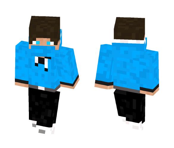 Download Boy In Blue Hoodie Minecraft Skin For Free Superminecraftskins