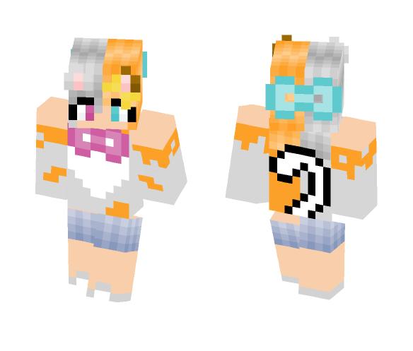 Neko Girl - Girl Minecraft Skins - image 1