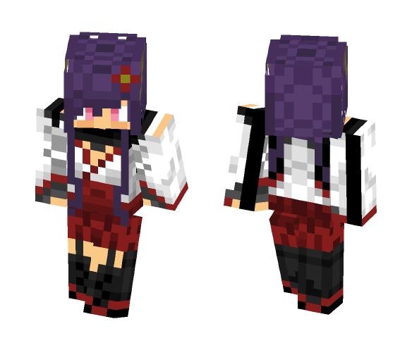 Ririchiyo Shirakiin - Female Minecraft Skins - image 1