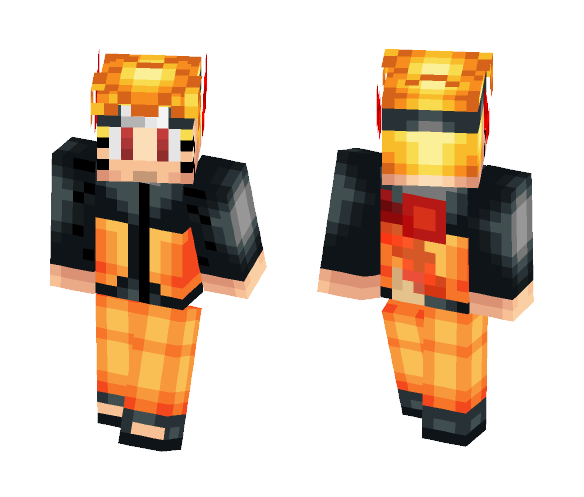 Naruto 1 tail - Male Minecraft Skins - image 1