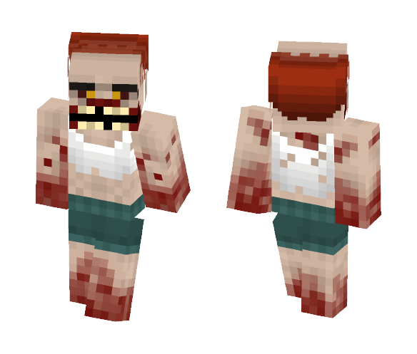 Download Jockey from L4D (Left 4 Dead) Minecraft Skin for