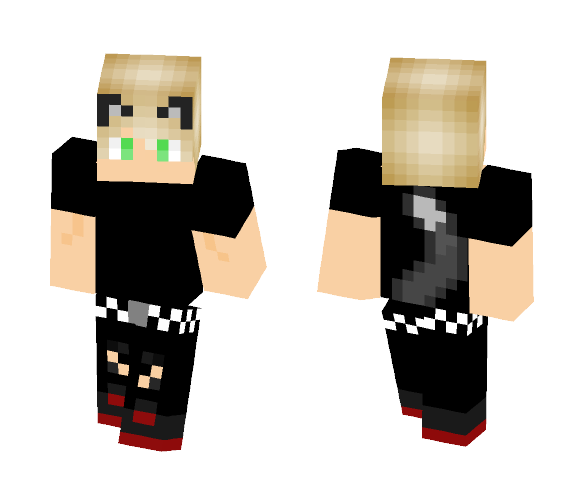 Neko Boy - Male Minecraft Skins - image 1