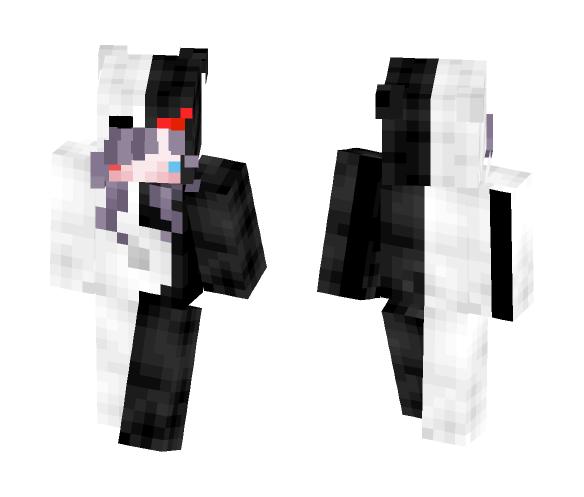MiiMii-Dear // Monokuma Onesie - Female Minecraft Skins - image 1