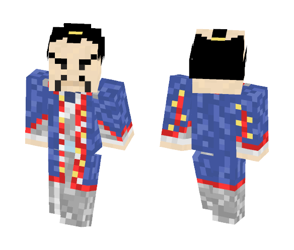 18th Century Japanese Nobleman - Male Minecraft Skins - image 1