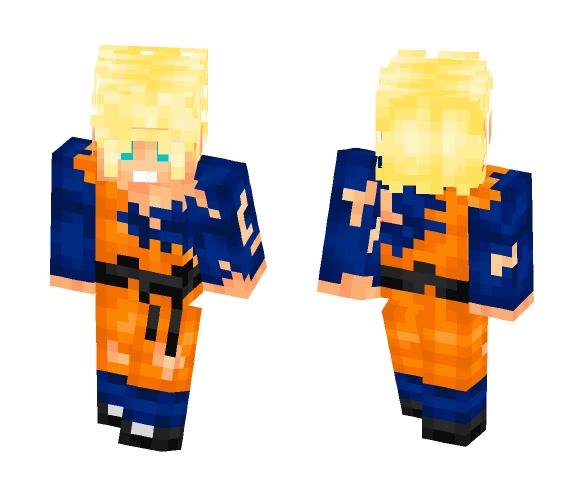 Damaged Goten SSJ [REQUEST] - Male Minecraft Skins - image 1