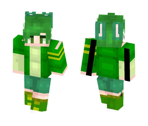 Download Green Tea Bunny Minecraft Skin For Free Superminecraftskins