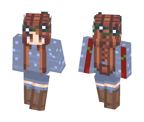 Download Ice Queen Summer Vacation Minecraft Skin For Free