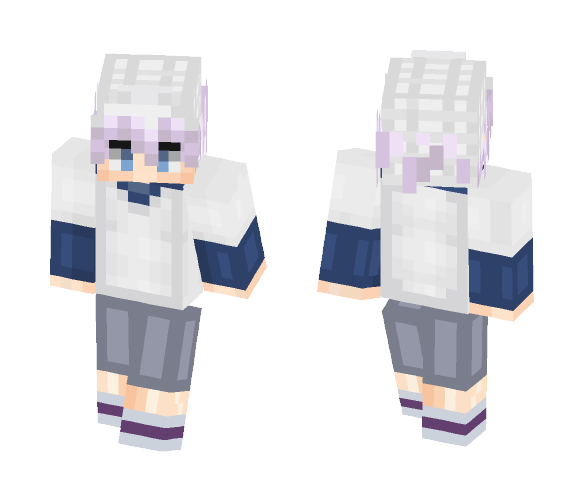 Killua Zoldyck - Hunter x Hunter - Male Minecraft Skins - image 1