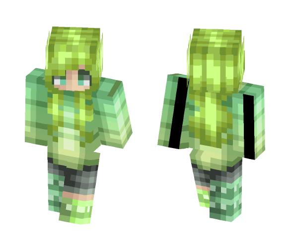 oc- midori - Female Minecraft Skins - image 1