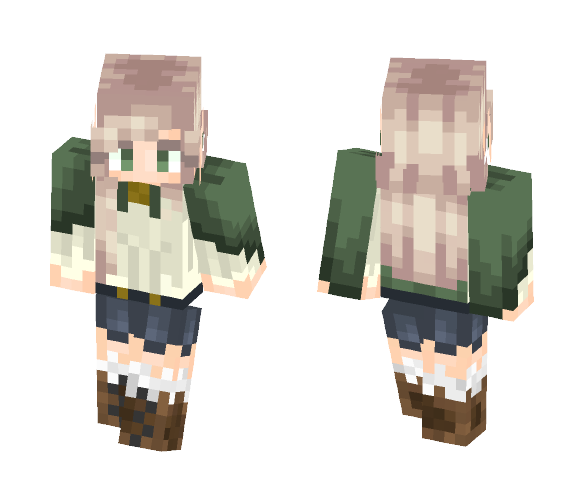 Download Lovely Cloak Minecraft Skin for Free