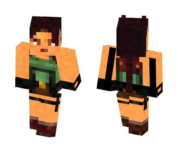 Tomb Raider: Lara Croft {FMV} - Female Minecraft Skins - image 1