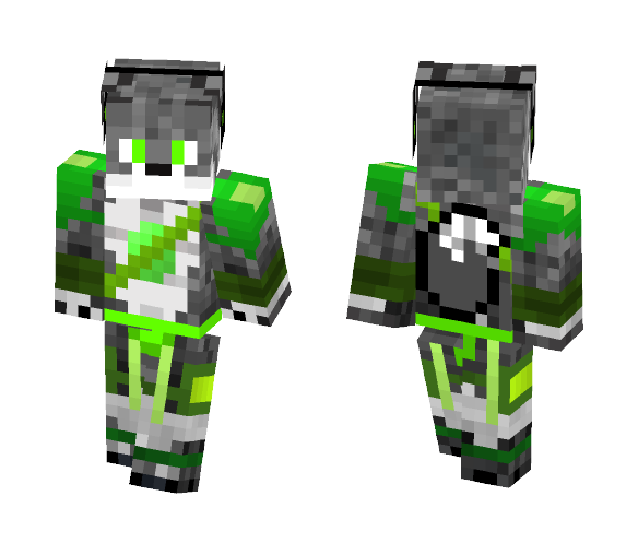 Dracon my fursona - Male Minecraft Skins - image 1
