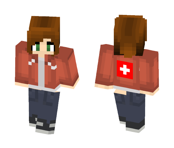 Download Zoey from L4D (Left 4 Dead) Minecraft Skin for Free