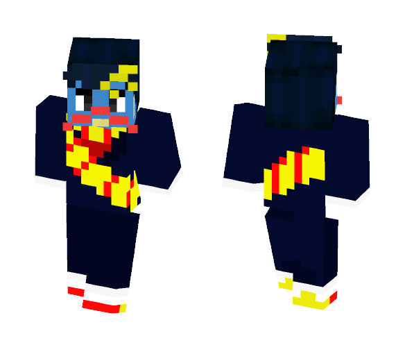 Download I'm only a Clock - DHMIS Minecraft Skin for Free
