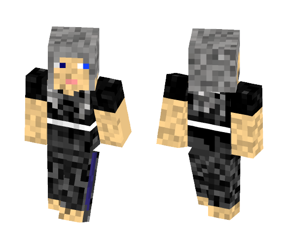 Wise Old Samurai Women - Female Minecraft Skins - image 1
