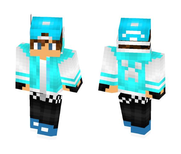 Download Light Blue Boy With Cap Minecraft Skin For Free Superminecraftskins
