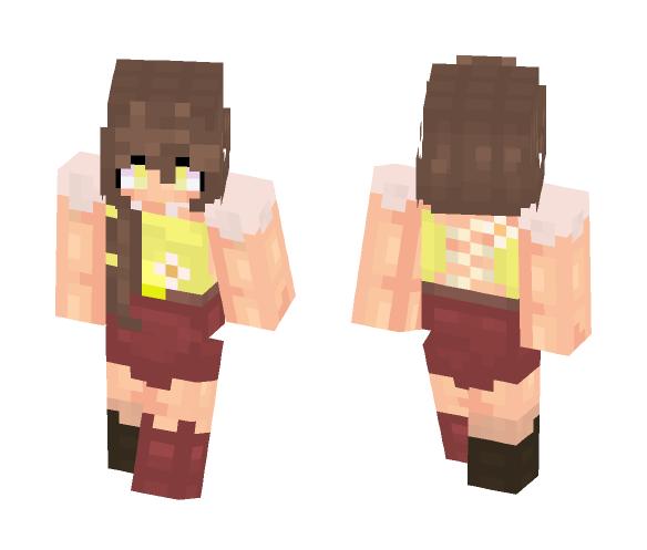Beautiful   Daisy - Female Minecraft Skins - image 1