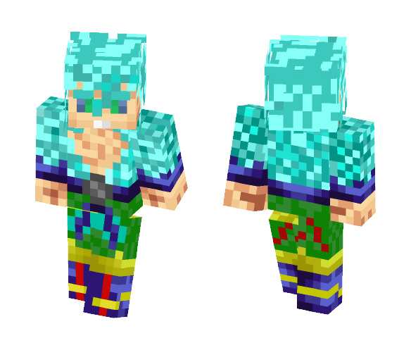 SSGSS Without Jacket - Male Minecraft Skins - image 1