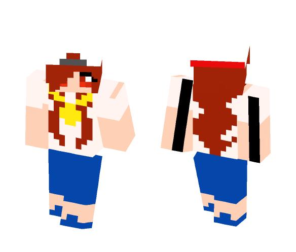 chica hip hop - Female Minecraft Skins - image 1